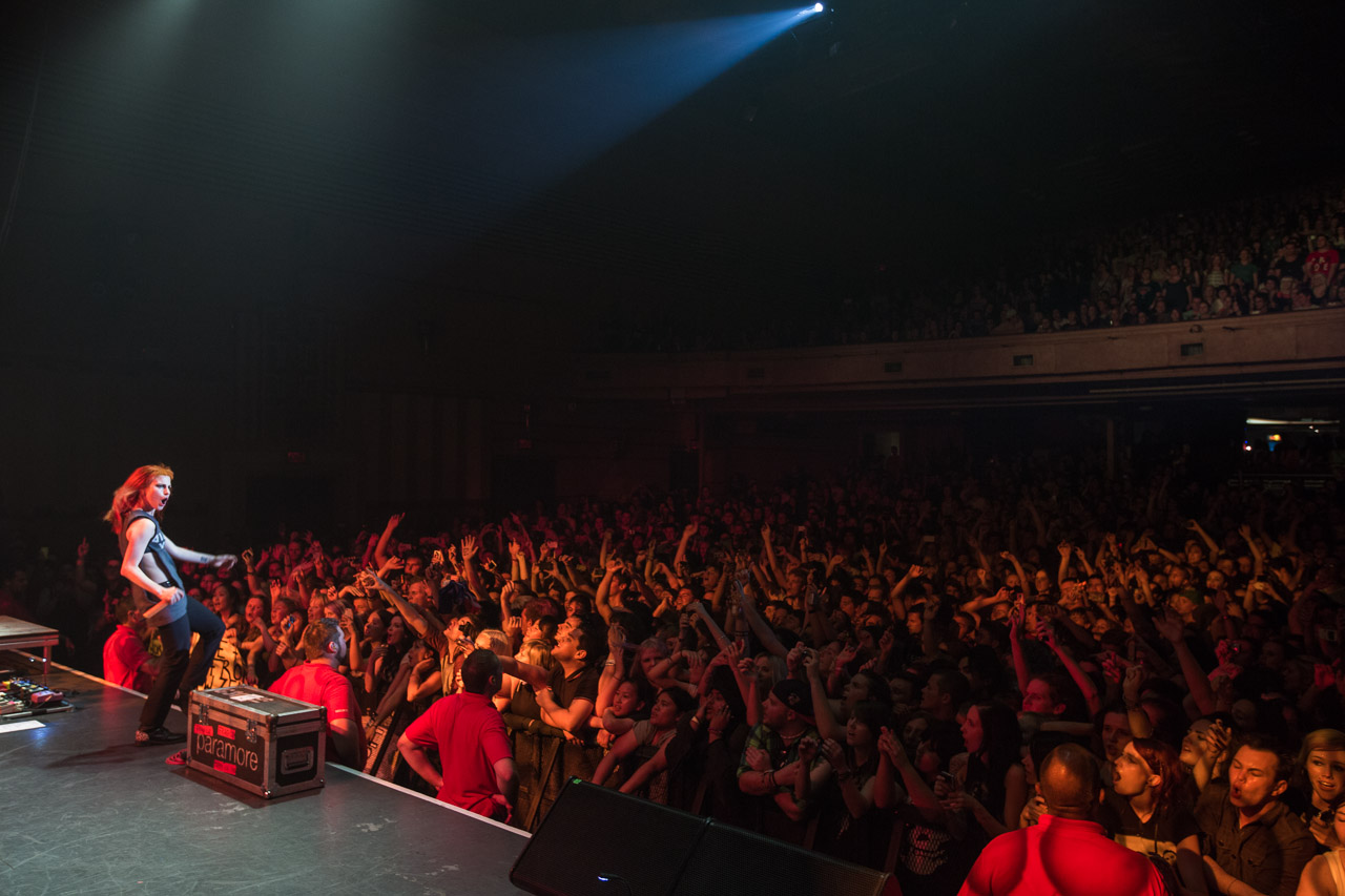 Paramore Live at The Enmore Theatre Sydney