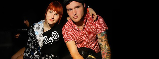 Hayley Williams y Chad Gilbert