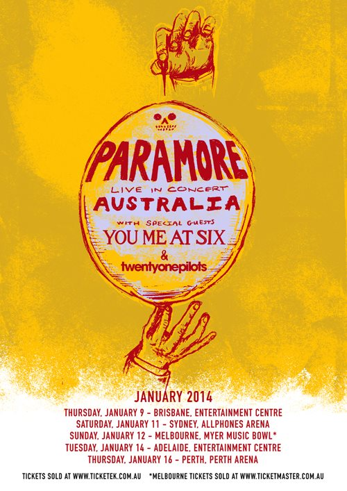 The Australian Tour 2014