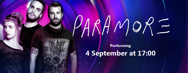 iTunes Festival Paramore