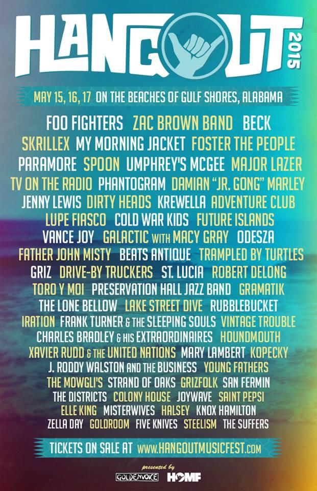 line-up Hangout Festival